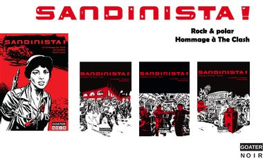 Project visual Sandinista, un hommage à The Clash