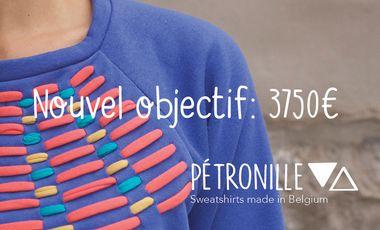 Visuel du projet Sweatshirts Pétronille-Made in Belgium