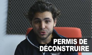 Project visual Ismaël Metis - Permis de Déconstruire