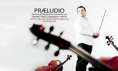 Visueel van project Præludio, enregistrement du premier album solo
