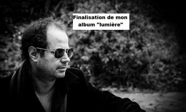 """Project visual Finalisation de mon album """"lumière"""""""