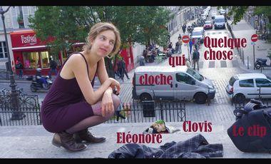 Visueel van project Quelque chose qui cloche / Le clip