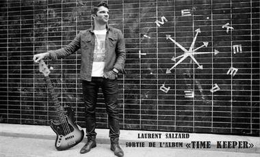 """Visueel van project Laurent Salzard """"Time Keeper"""" - 1er album"""