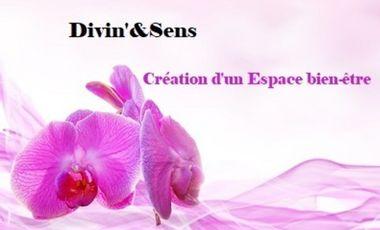 Project visual Divin'& Sens : Création d'un Espace Bien-être
