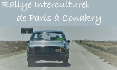 Project visual Rallye Interculturel de Paris à Conakry