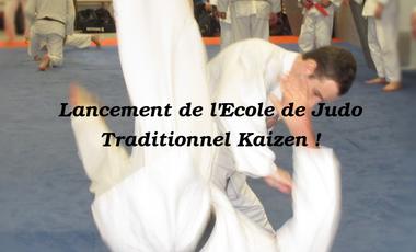 Project visual Ecole de Judo Traditionnel Kaizen