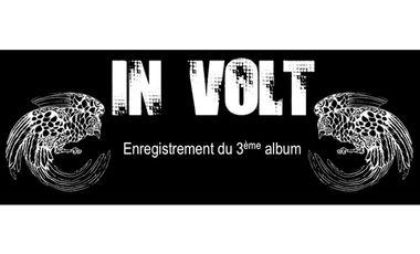 Project visual IN VOLT : Réalisation du 3ème album  !!