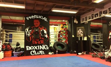 Project visual Physical Boxing Club