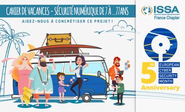 Visueel van project Cahier de vacances - Sécurité Numérique De 7 à ... 77 ans