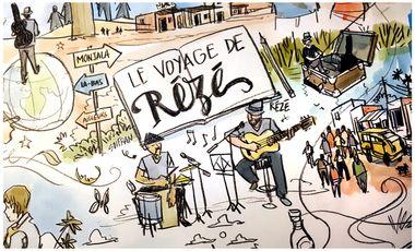 Project visual Le Voyage de Rézé