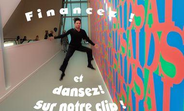 Visueel van project Financez et Dansez sur notre Clip !