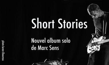 Visuel du projet Marc Sens Nouvel album Solo