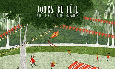 Project visual Jours de fête pour Nicole Rieu et les enfants