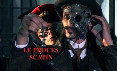 Visueel van project Le procès Scapin
