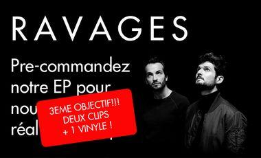 Visueel van project RAVAGES - EP & Clip