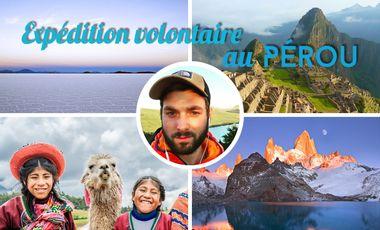 Visueel van project Expédition volontaire au Pérou