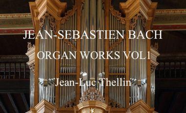 Visueel van project Jean-Sébastien Bach organ works vol 1