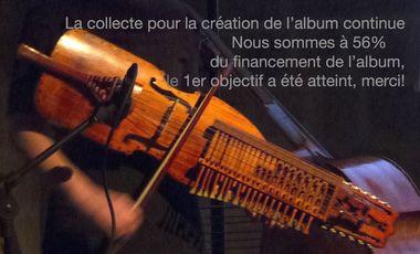 Visuel du projet Album Solo de Nyckelharpa - Ingrid Obled