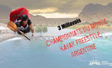 Project visual Championnats du monde Kayak freestyle - Argentine