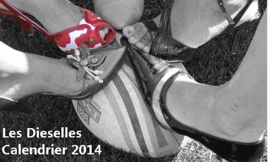 Project visual Le 1er calendrier des Dieselles du Havre Rugby Club