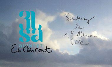 Visueel van project 3lsa > 1st Album LIVE de surcroît !