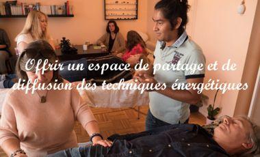 Visuel du projet Ecole du bien-être : lieu de partage et de diffusion des techniques énergétiques