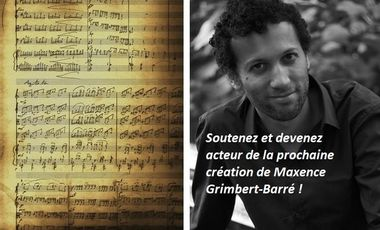 Visuel du projet Création du Trio opus 27 de Maxence Grimbert-Barré !