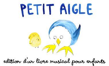 Visueel van project Petit Aigle : édition d'un livre musical pour enfants