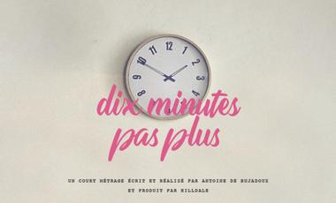 Project visual Dix minutes pas plus