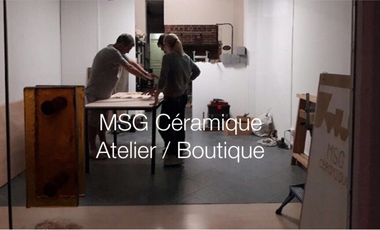 Visuel du projet L'atelier / Boutique MSG Céramique