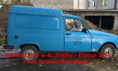 Project visual 4L trophy: Les tontons bocusiens en 4L