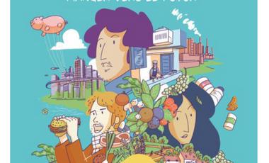 Visuel du projet MANGER VERS LE FUTUR  | la BD numérique