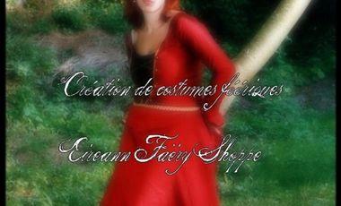 Visuel du projet Eireann faëry, création de costumes féériques et elfiques