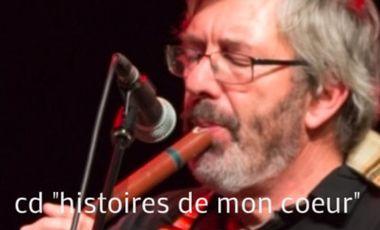 """Visuel du projet cd """"histoires de mon coeur"""""""