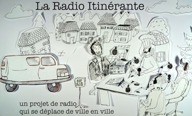 Project visual La Radio Itinérante