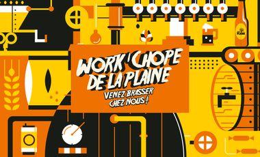 Visuel du projet Work'chope de la Plaine. Venez brasser chez nous !