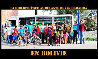 Project visual Faire vivre le bibliobus de Cochabamba en Bolivie