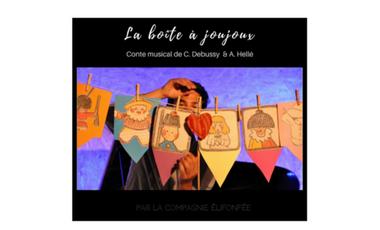 Visueel van project La boîte à joujoux - Cie Elifonfée