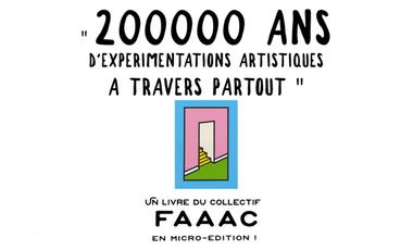Project visual Un livre en micro édition, aventures artistiques en Europe