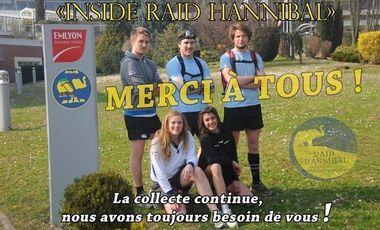 """Visuel du projet """"Inside Raid Hannibal"""""""