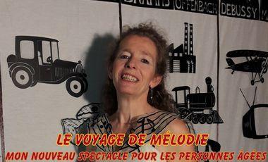 Project visual Le Voyage de Mélodie par Odile Le Falher