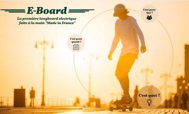 Visueel van project E-Board