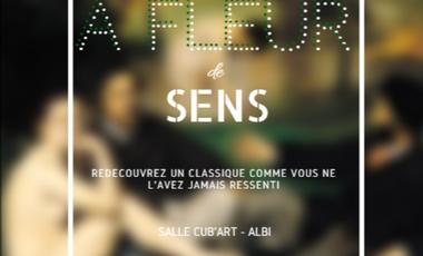 "Project visual Exposition ""A fleur de sens"""