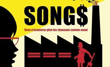 Visuel du projet SONGS, l'album concept de Bartone, Florent Marchet, Aldebert, Zaza Fournier et Archimède !