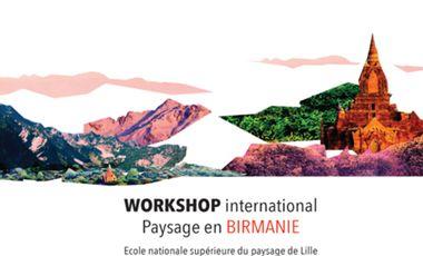 Visuel du projet Projet de paysage avec des étudiants birmans