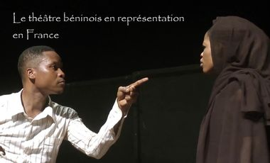 Project visual Le théâtre béninois en représentation en France