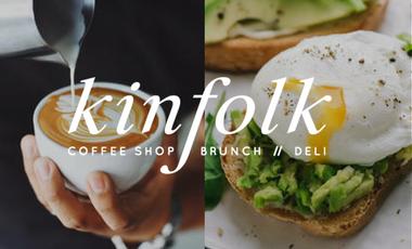 Project visual Kinfolk // coffee shop . brunch . deli