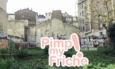 Visueel van project Pimp my Friche ! Espace temporaire de production artistique à ciel ouvert