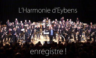 Project visual L'harmonie d'Eybens enregistre son premier CD