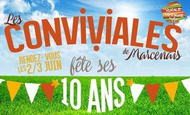 Visueel van project LES CONVIVIALES de MARCENAIS fête ses 10 ANS !!!